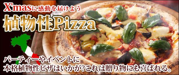 植物性ピザ購入