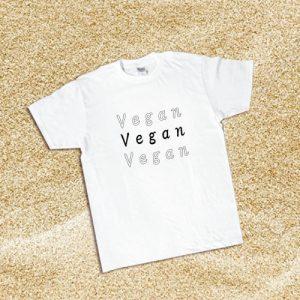 ヴィーガンTシャツ