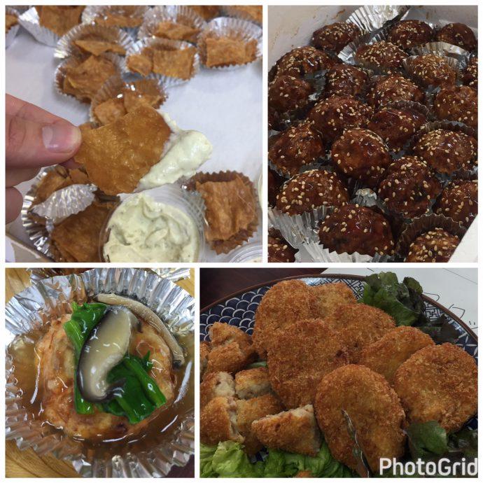 大豆ミート調理1